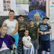 посещение выставки детьми с ограниченными возможностями здоровья