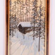 Самарин Ю.Г. Зимний пейзаж